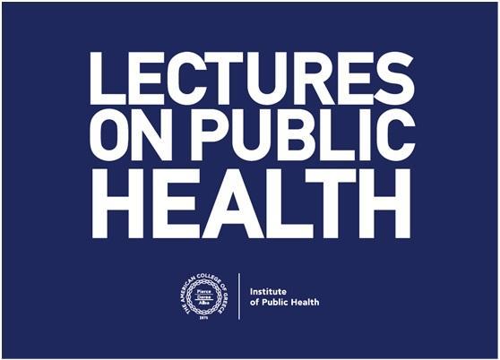 Αναβολή της 3ης Διάλεξης του Ινστιτούτου Δημόσιας Υγείας, ACG