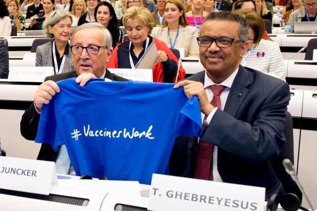 Η Ευρωπαϊκή Επιτροπή και ο Παγκόσμιος Οργανισμός Υγείας ενώνουν τις δυνάμεις τους για να προωθήσουν τα οφέλη του εμβολιασμού