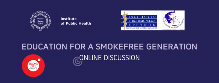 World No Tobacco Day 2020_Online Discussion 27.5.2020