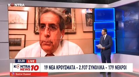 """""""Η προσωπική μου άποψη είναι ότι κανένα νόσημα δεν πρέπει ποτέ να αποτελεί λόγο διάκρισης των πολιτών"""" (Kontra Channel – 2.6.2020)"""
